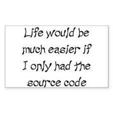 Source Code for Life Rectangle Decal