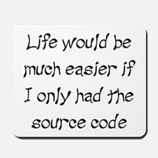 Source Code for Life Mousepad