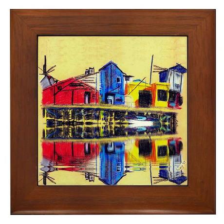Cannery Row - Framed Tile