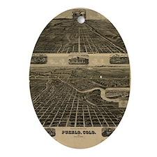 Pueblo Oval Ornament