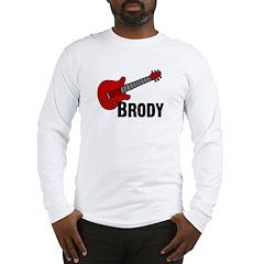 Guitar - Brody Long Sleeve T-Shirt