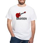 Guitar - Brayden White T-Shirt