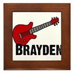 Guitar - Brayden Framed Tile