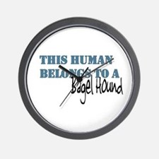 This Human Belongs To Wall Clock