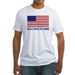 Flag Kucinich 2008 Fitted T-Shirt