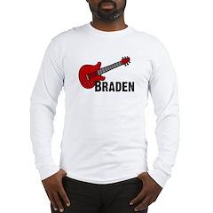 Guitar - Braden Long Sleeve T-Shirt