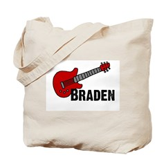 Guitar - Braden Tote Bag