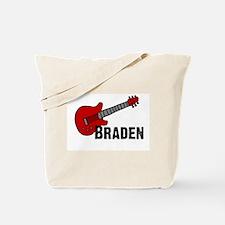 Guitar - Braden Tote Bag