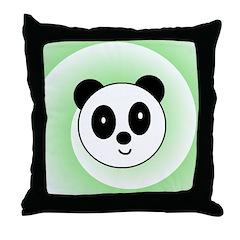 PANDA BEAR Throw Pillow