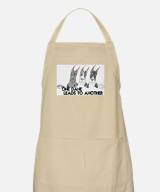 CMrlMtlM Leads BBQ Apron