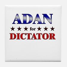 ADAN for dictator Tile Coaster
