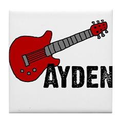 Guitar - Ayden Tile Coaster