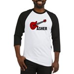 Guitar - Asher Baseball Jersey