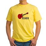 Guitar - Asher Yellow T-Shirt