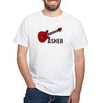 Guitar - Asher White T-Shirt