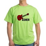 Guitar - Asher Green T-Shirt