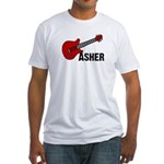 Guitar - Asher Fitted T-Shirt