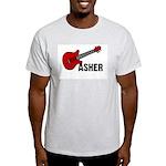 Guitar - Asher Light T-Shirt