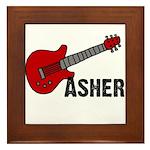 Guitar - Asher Framed Tile