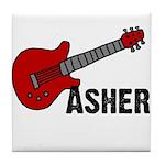 Guitar - Asher Tile Coaster
