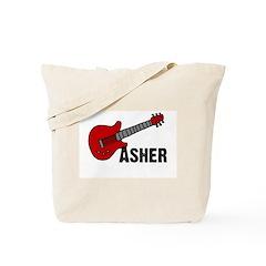 Guitar - Asher Tote Bag