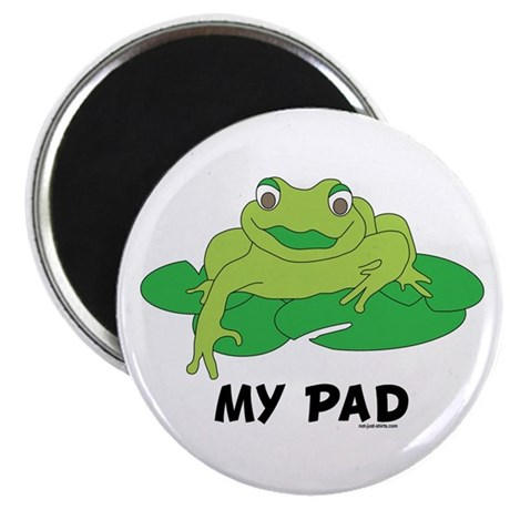 """My Pad Frog 2.25"""" Magnet (10 pack)"""