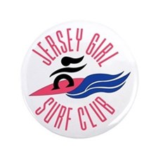 "Jersey Girl Surf Club 3.5"" Button"