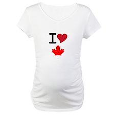 Canada Heart Leaf Shirt