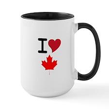 Canada Heart Leaf Mug