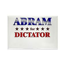 ABRAM for dictator Rectangle Magnet