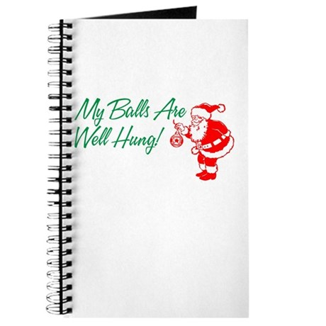 My Balls Are Well Hung Journal