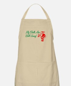 My Balls Are Well Hung BBQ Apron