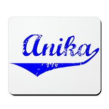 Anika Vintage (Blue) Mousepad