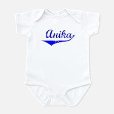 Anika Vintage (Blue) Infant Bodysuit