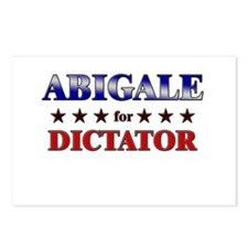 ABIGALE for dictator Postcards (Package of 8)