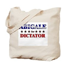 ABIGALE for dictator Tote Bag