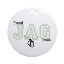 jag cousin Ornament (Round)