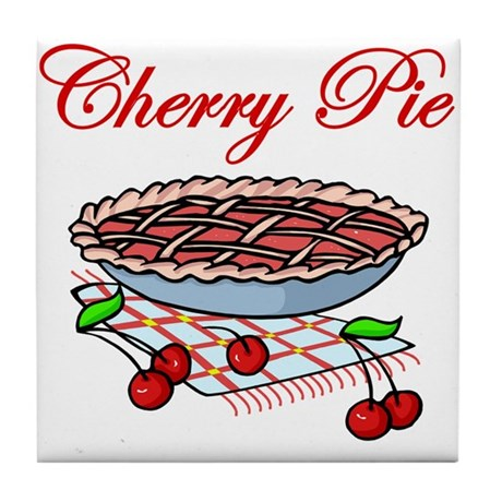 Cherry Pie Tile Coaster