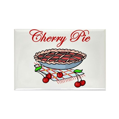 Cherry Pie Rectangle Magnet (100 pack)