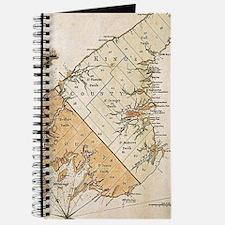 Vintage Map of Prince Edward Island (1775) Journal