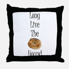 Long Live The Bagel Throw Pillow