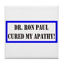 Ron Paul cure-1 Tile Coaster