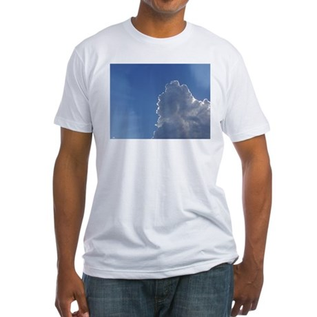 Clouds Fitted T-Shirt