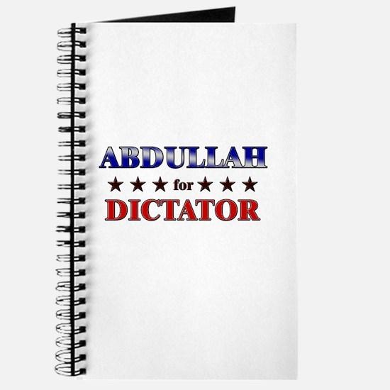 ABDULLAH for dictator Journal