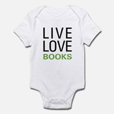 Live Love Books Infant Bodysuit