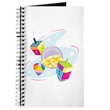 Pastel Dreidels Journal
