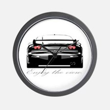 "RX7 ""Enjoy the view."" Wall Clock"