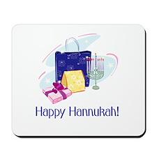 Happy Hannukah! Mousepad