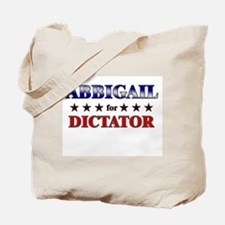ABBIGAIL for dictator Tote Bag