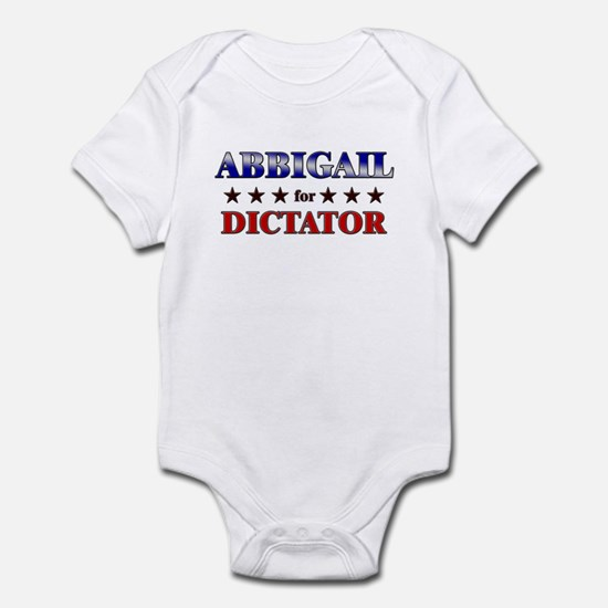 ABBIGAIL for dictator Infant Bodysuit